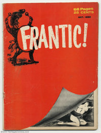 Frantic! #1 (Pierce Publishing, 1958) Condition = GD+. This great satire magazine obviously drew heavily from Mad Magazi...