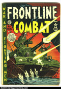 Golden Age (1938-1955):War, Frontline Combat #2 (EC, 1951) Condition: GD+. Overstreet 2003 GD 2.0 value = $35. From the collection of Bobby Harmon....