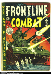 Frontline Combat #2 (EC, 1951) Condition: GD+. Overstreet 2003 GD 2.0 value = $35. From the collection of Bobby Harmon...