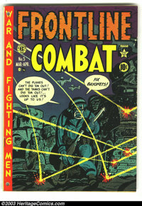 Frontline Combat #5 (EC, 1952) Condition: GD. Overstreet 2003 GD 2.0 value = $21. From the collection of Bobby Harmon...