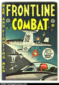 Golden Age (1938-1955):War, Frontline Combat #8 (EC, 1952) Condition: VG+. Fantastic Air Force cover. Overstreet 2003 VG 4.0 value = $35. From the col...