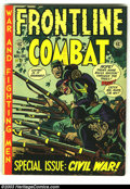 Golden Age (1938-1955):War, Frontline Combat #9 (EC, 1952) Condition: VG/FN. Overstreet 2003 VG 4.0 value = $35. From the collection of Bobby Harmon....