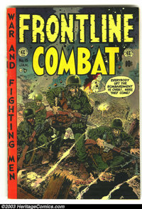 Frontline Combat #15 (EC, 1954) Condition: VG+. Last issue. Overstreet 2003 VG 4.0 value = $26. From the collection of B...