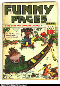 Funny Pages v2 #3 (Centaur, 1937) Condition: VG. Overstreet 2003 VG 4.0 value = $122