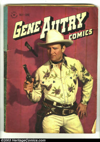 Gene Autry Comics Group Lot (Dell, 1950s) Condition: GD/VG. Large lot of great reading copies includes: #7, 12, 16, 26...