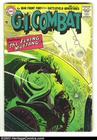 G.I. Combat #45 (DC, 1957) Condition: VG. Second DC issue (started at Quality); Joe Kubert artwork. Overstreet 2003 VG 4...