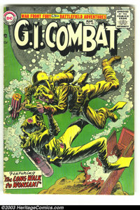 G.I. Combat #46 (DC, 1957) Condition: VG-. Third DC issue. Overstreet 2003 VG 4.0 value = $42