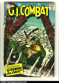 G.I. Combat #57, 58, 64, and 65 (DC, 1952) Condition: GD/VG. Four excellent reading copies. #57 and #58 contain pre-Sgt...