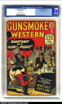Gunsmoke Western #68 12 Cent Price Variant (Marvel, 1962) CGC GD/VG 3.0 Cream to off-white pages. This scarce variant ed...