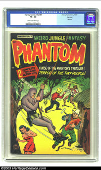 Harvey Comics Hits #51 File Copy (Harvey, 1951) CGC FN- 5.5 Cream to off-white pages. Features the Phantom. Overstreet 2...