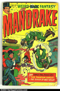 Harvey Comics Hits #53 Mandrake the Magician (Harvey, 1951) Condition: VG. Overstreet 2003 VG 4.0 value = $48