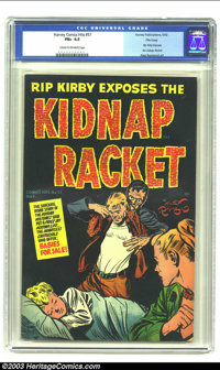 Harvey Comics Hits #57 File Copy (Harvey, 1952) CGC FN+ 6.5 Cream to off-white pages. Rip Kirby exposes the Kidnap Racke...
