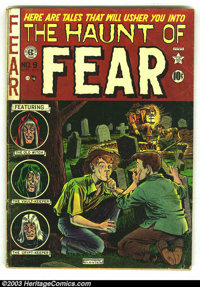 The Haunt of Fear #9 (EC, 1951) Condition: GD/VG. Crypt Keeper by Jack Davis begins. Overstreet 2003 GD 2.0 value = $40;...