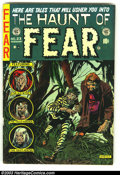 Golden Age (1938-1955):Horror, The Haunt of Fear #23 (EC, 1954) Condition: FN-. Used in Seduction of the Innocent. Manufactured with only one staple. Overs...