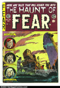 Golden Age (1938-1955):Horror, The Haunt of Fear #28 (EC, 1954) Condition: VG/FN. Rare last issue,low distribution. Overstreet 2003 VG 4.0 value = $58; FN...