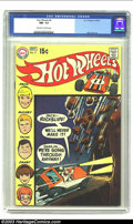 Bronze Age (1970-1979):Miscellaneous, Hot Wheels #4 (DC, 1970) CGC NM- 9.2 Off-white to white pages. Alex Toth art. Overstreet 2003 NM 9.4 value = $60. ...