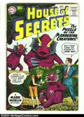 Silver Age (1956-1969):Science Fiction, House of Secrets LOT (DC, 1960) Condition: average VG. This lot contains issues 34, 35, 37, 38, 40, 63. Overstreet 2003 valu... (Total: 6 Comic Books Item)