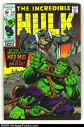 Silver Age (1956-1969):Superhero, The Incredible Hulk group lot (Marvel, 1968) Condition: average VF/NM. Issues 119, 120, 122 and 128. Here is a really nice, ... (Total: 4 Comic Books Item)