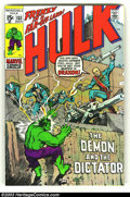 Silver Age (1956-1969):Superhero, The Incredible Hulk group lot (Marvel, 1970s) Condition: averages VF/NM. Issues 133-135, 143, 157, 164-167 and King Size #2.... (Total: 10 Comic Books Item)