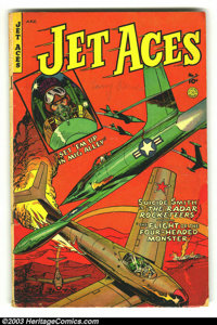 Jet Aces #1 (Fiction House, 1952) Condition: VG. Overstreet 2003 VG 4.0 value = $32