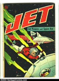 Golden Age (1938-1955):Science Fiction, Jet Powers #1 (Magazine Enterprises, 1950) Condition: VG. Bob Powell cover and art. Overstreet 2003 VG 4.0 value = $68....