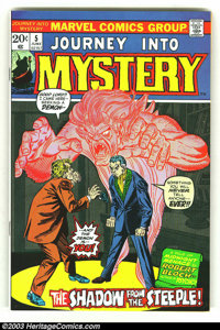Journey into Mystery (2nd Series) lot of #5-9 (Marvel, 1972) Condition: average VF/NM. This fantastic Bronze Age Horror...
