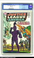 Silver Age (1956-1969):Superhero, Justice League of America #34 (DC, 1965) CGC VF+ 8.5 Cream to off-white pages. The Joker appears on the cover, along with Ba...