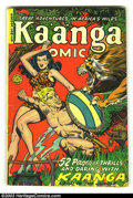 Golden Age (1938-1955):Adventure, Kaanga Comics #3 (Fiction House, 1950) Condition: VG. Overstreet 2003 VG 4.0 value = $44....