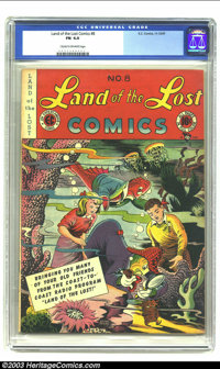 Land of the Lost #6 (EC, 1947) CGC FN 6.0 Cream to off-white pages. Very rare EC comic. Overstreet 2003 FN 6.0 value = $...