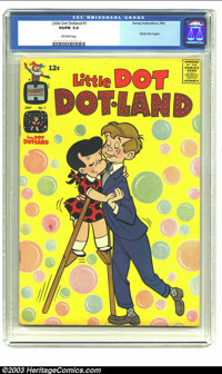 Little Dot Dotland #1 (Harvey, 1962) CGC VG/FN 5.0 Off-white pages. Richie Rich begins. Overstreet 2003 VG 4.0 value = $...