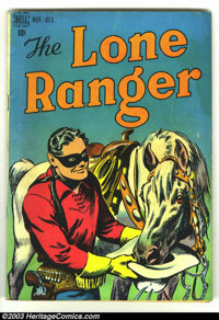 The Lone Ranger, The #6 (Dell, 1948) Condition: VG. Overstreet 2003 VG 4.0 value = $38
