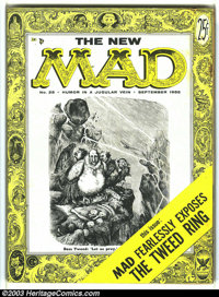 Mad #25 (EC, 1955) Condition: VG-. Al Jaffee begins as a regular writer in this, the second magazine-sized, issue of Mad...