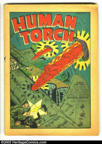Marvel Mystery Comics #41 (Timely, 1943) Condition: coverless. Features the Human Torch, Toro, Sub-Mariner and the Patri...