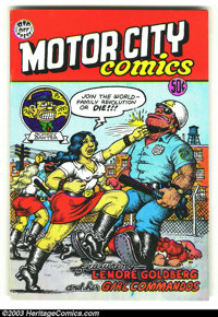 Motor City Comics #1 Third Print (Rip Off Press, 1969) Condition = FN+. This great underground features work by Robert C...