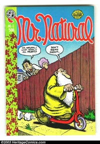 Mr. Natural #2 & #3 First Prints (San Francisco Comic Book Company, 1971) Conditions = VF+. This lot consists of fir...