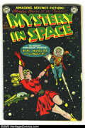 Golden Age (1938-1955):Science Fiction, Mystery in Space #1 (DC, 1951) Condition: GD/VG. Cool, rarely seen first issue. Overstreet 2003 GD 2.0 value = $222; VG 4.0 ...