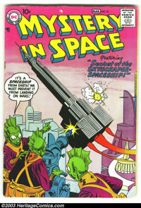 Mystery in Space Silver Age Group (DC, 1958). This group includes issues #41 (GD), #42 (VG), #48 (VG), #50 (GD), and #51...