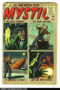Mystic lot Of #47 and 52 (Atlas, 1954) Condition: GD/VG. Overstreet 2003 value for group = $60.... (Total: 2 Comic Books...