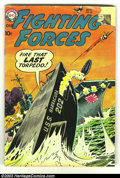 Golden Age (1938-1955):War, Our Fighting Forces #39 and #52 (DC, 1954) Condition: GD. Russ Heath, Mort Drucker, Joe Kubert art. Overstreet 2003 value fo... (Total: 2 Comic Books Item)