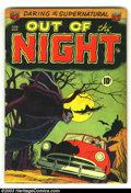 Golden Age (1938-1955):Horror, Out of the Night #1 (ACG, 1952) Condition: VG+. Rarely seen firstissue. Al Williamson artwork. Really cool ACG Pre-code hor...