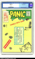Panic #10 Gaines File pedigree 10/12 (EC, 1955) CGC NM- 9.2 White pages. Handle with care cover. Overstreet 2002 NM 9.4...