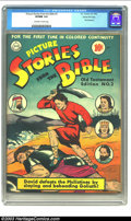 Golden Age (1938-1955):Religious, Picture Stories from the Bible Old Testament #2 Gaines Filepedigree (DC, 1942) CGC VF/NM 9.0 Off-white to white pages. Beau...