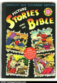 Picture Stories from the Bible Complete Old Testament (EC, 1947) Condition: FN+. Overstreet 2003 FN 6.0 value = $87. Fro...
