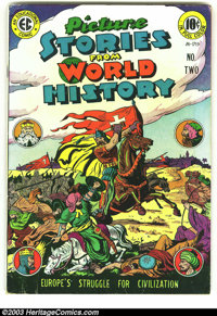 Picture Stories from World History #2 (EC, 1947) Condition: VG+. Overstreet 2003 VG 4.0 value = $54. From the collection...