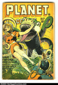 Golden Age (1938-1955):Science Fiction, Planet Comics #42 (Fiction House, 1946) Condition: VG-. Joe Doolin cover. Doolin, Renee, Anderson, and Hopper art. Overstree...