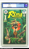 Bronze Age (1970-1979):Miscellaneous, Rima the Jungle Girl #1 (DC, 1974) CGC NM+ 9.6 Off-white pages. Joe Kubert cover, Nestor Redondo art, origin Rima, the Jungl...