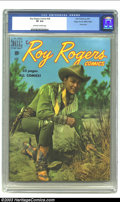 Golden Age (1938-1955):Western, Roy Rogers Comics #28 Mile High pedigree (Dell, 1950) CGC VF 8.0 Off-white to white pages. Roy Rogers photo cover. Overstree...