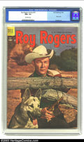 Roy Rogers Comics #79 (Dell, 1954) CGC NM+ 9.6 Off-white pages. Roy Rogers photo cover; Buscema art. Overstreet 2003 NM...