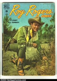 Roy Rogers Comics #7, 28, and 65 (Dell, 1949) Condition: GD. Overstreet value for group = $36
