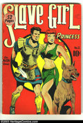 Golden Age (1938-1955):Adventure, Slave Girl Comics #2 (Avon, 1949) Condition: VG-. Larsen art. Overstreet 2003 VG 4.0 value = $136. ...